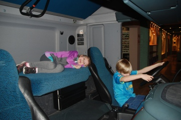 soren driving maebh resting first trucks with beds