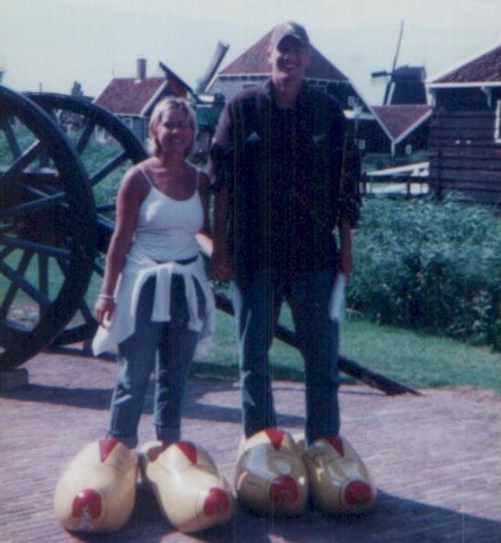 nils & Hep - Zaanse Schans 1999