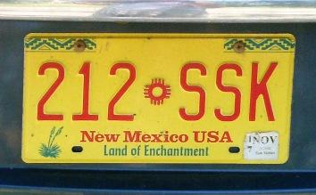 New Mexico copy