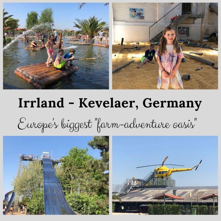 "Irrland, Kevelaer, Germany: Europe's biggest ""Farm-Adventure Oasis"""