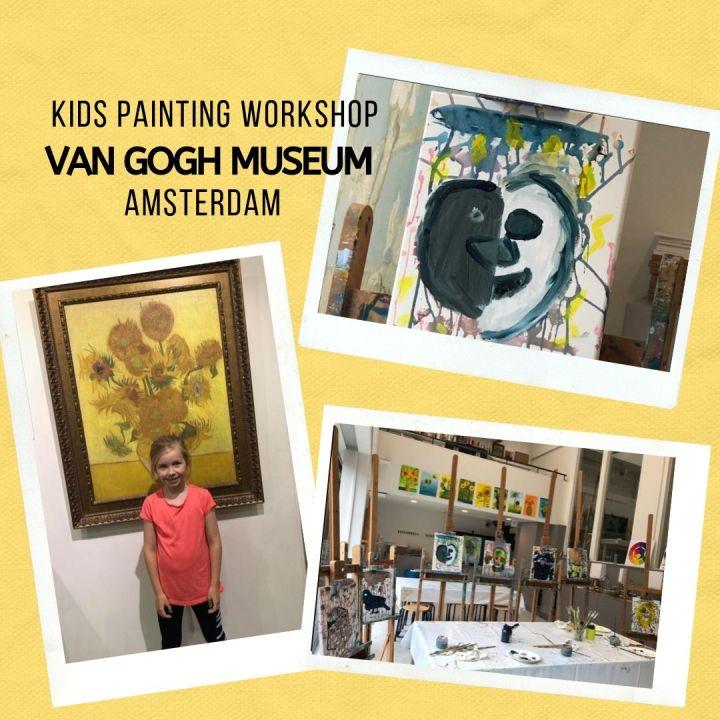 Kids Painting Workshop at the Van Gogh MuseumAmsterdam