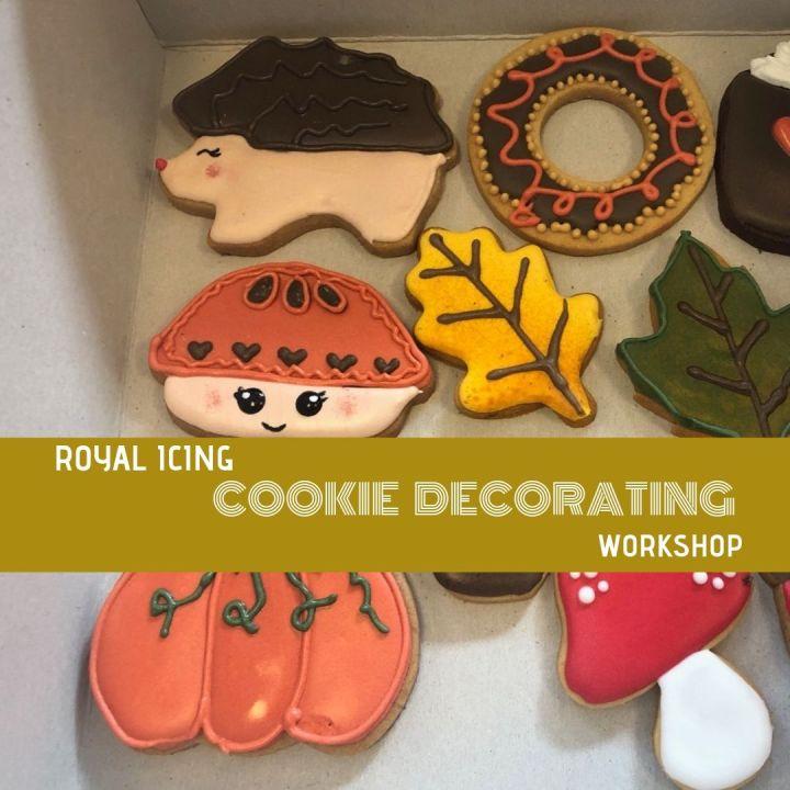 Royal Icing Cookie DecoratingWorkshop