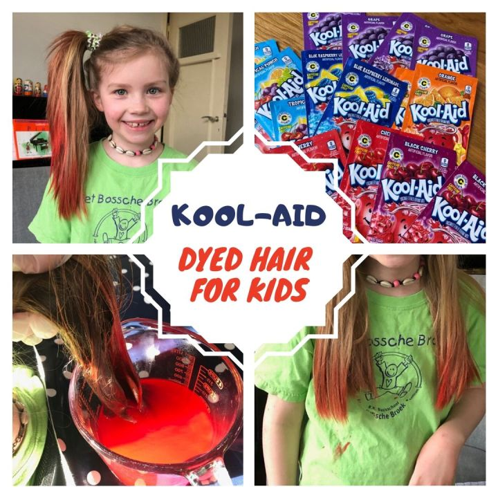 Kool-Aid Dyed Hair For Kids